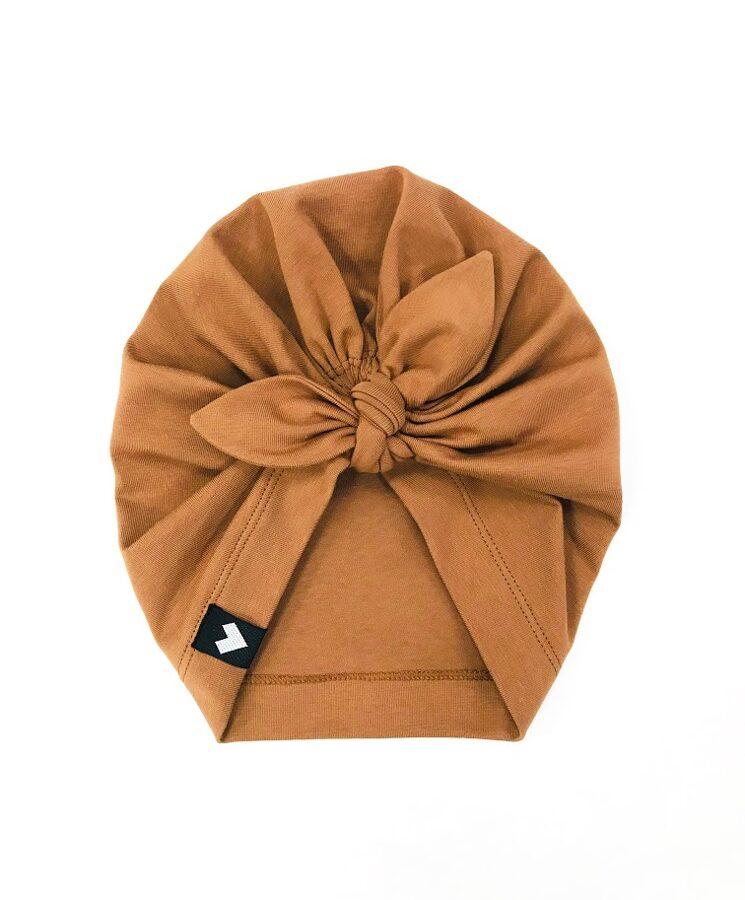 c e p u r e - kanēļa brūna turban